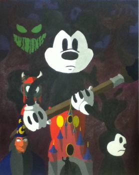 Epic Mickey: The Story of the Wasteland by AniMat505