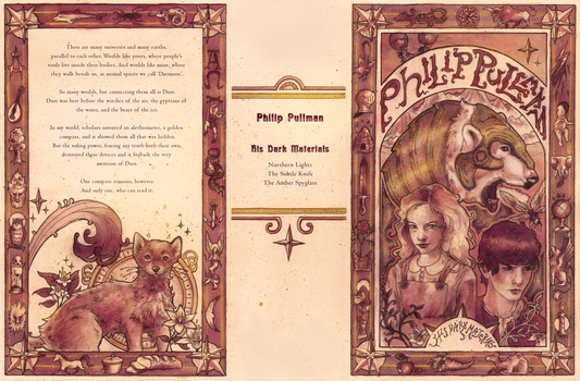His Dark Materials Book Cover by Fayven