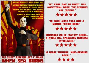 Reviews are out for Book 05: WHEN SEA BURNS! by the-silentassassinAP