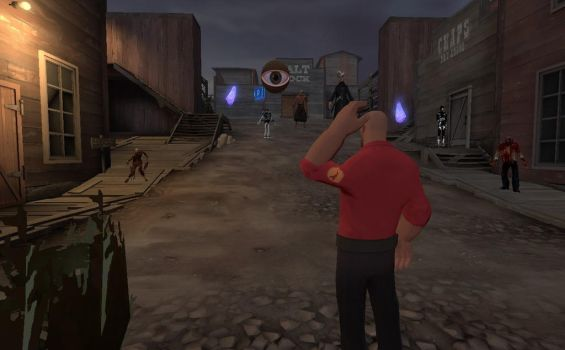 [Gmod] Ghost town by DANIOTHEMAN