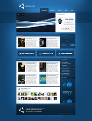 Multigaming team layout (blue) by bazner
