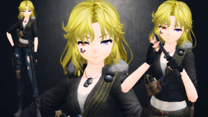 [MMD] Christina Fortier (updated) by AbyssLeo