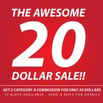 SALE!! 1 SLOTS TO GO by wansworld