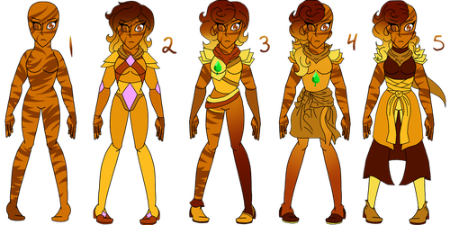 Tigers Eye Forms by Pepsi-Meth