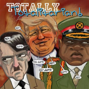 Totally Totalitarian #10 by charlando