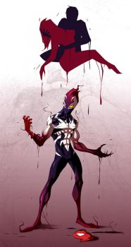 Spiderman - Ultimate Symbiote [FINAL] by COLOR-REAPER