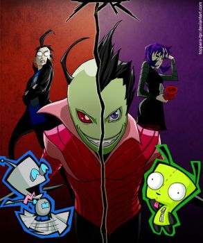 Invader Zim by ToPpeRa-TPR