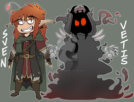 The Hobbit - Sven and Vetis by pistachioZombie