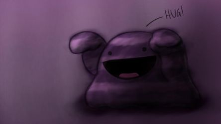 Muk wants a hug by BenLim23