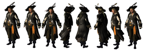 Daz 3D Hector Barbossa  PNG fer free by KomyFly