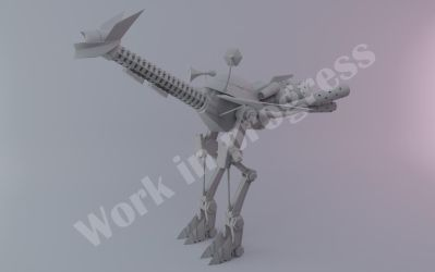 WIP: Mechano Strider Modeling by linkitch