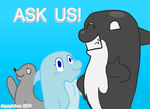 Ask Bubbles and friends (OPEN) ASK PLEASE! by AquaPicture