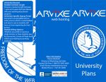 Arvixe Brochure Pages 1,3,6 by AlexCFriend