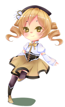 Mami-chan by Flamyxchan