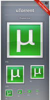 Icon uTorrent Square by ncrow