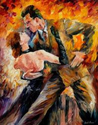 Classical Tango by Leonid Afremov by Leonidafremov