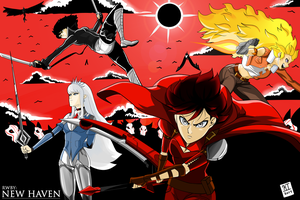 RWBY: New Haven by Koughing
