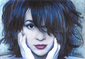095 - Norah Jones by NainaArt
