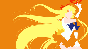 Sailor Venus from Sailor Moon Crystal | Minimalist by matsumayu