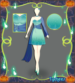 Outfit Adoptable (Auction) #36 CLOSE!!! by Tychees