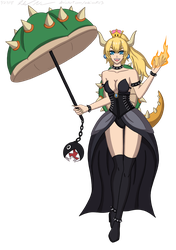 Bowsette by Sabi-Cat-13