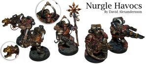 Nurgle Havocs by Tiwyll