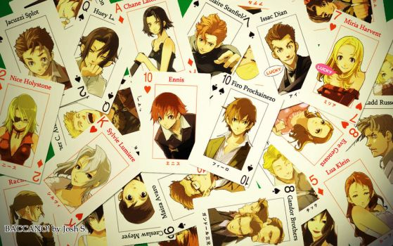 Baccano Card Wallpaper by Residentartist101