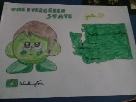 Kirbytalia (US states) - Washington by Genie92