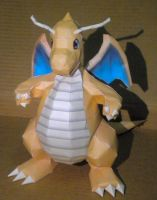 Dragonite 2 by jewzeepapercraft