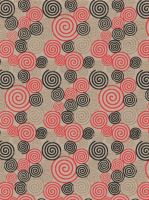 Red Black and Gold Spiral - free to use by amberwillow