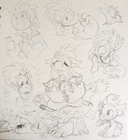 DTA SketchPage by TawnySoup