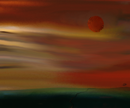 Mars Rises by EssDesigns23