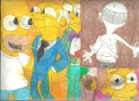 Sketch Pad Simpsons 1 by RozStaw57