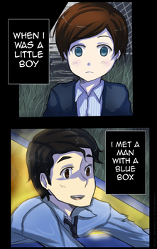 Glee-DW: The Boy Who Waited by laertena