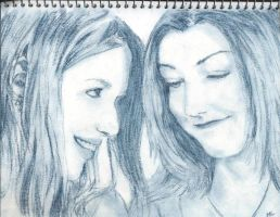 Willow and Tara by PeagreenPetticoat
