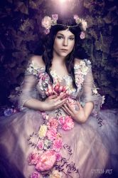 flower fairy by Lycilia