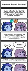 One-Sided Summer Blossoms (Comic Strip) by Espa-Chi