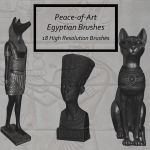 Egyptian Brushes by Peace-of-Art