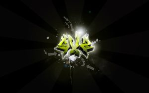 SXZ Graffiti Widescreen by Sed-rah
