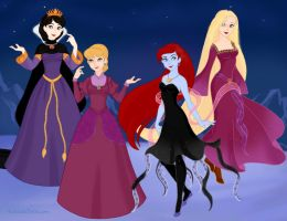 Disney Girls' Halloween Costumes by Arimus79