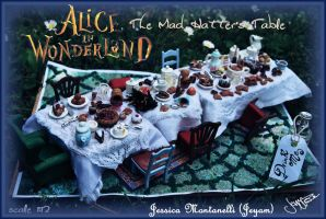 The Mad Hatter's Table by Jeyam-PClay