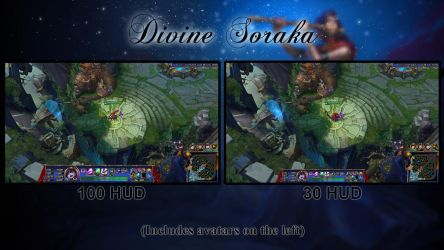 FREE Divine Soraka League of Legends Overlay by Analy-Aranda