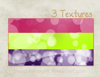 3 Bubble Textures by Brand-NewEyes