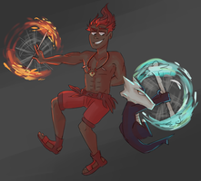 fire twirlers lets move by pharosite