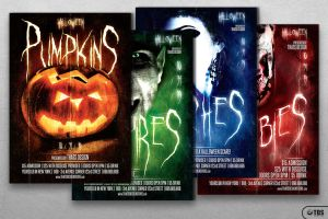Halloween Flyer Template 10 by Thats-Design