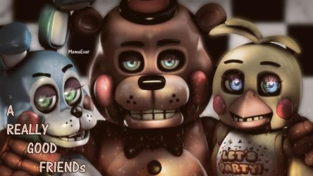 {SFM/FNAF} A Really Good friends by MemeEver