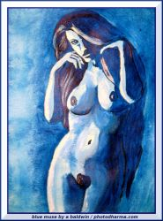 blue muse by abaldwin