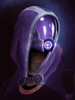 Mass Effect: Tali'Zorah vas Normandy by ruthiebutt