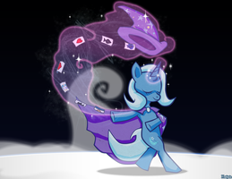Trixie on Stage by Kadjule
