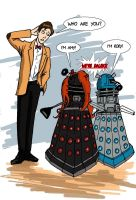 They're not just daleks, they're Ponds! by Cryptkeeper777